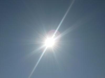 Sonnenfinsternis ohne Filter
