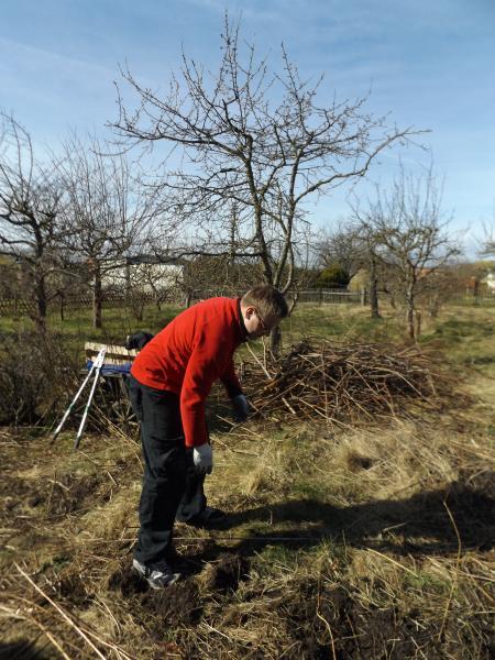Arbeiten im Garten 168 / 169